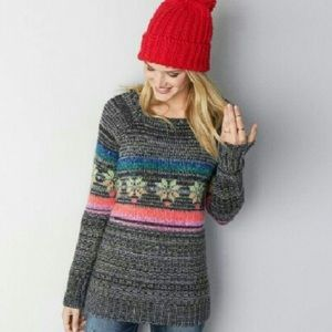 American Eagle Jegging Sweater size Xs fair isle
